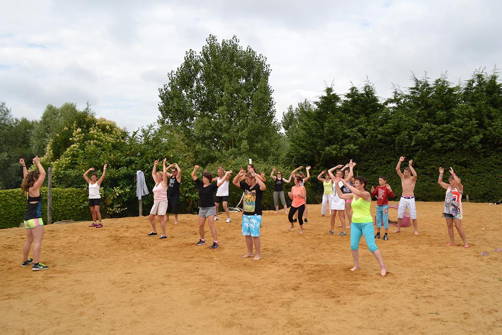 animations danse du camping