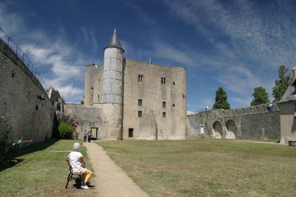 Le château de Noirmoutier en L'ile