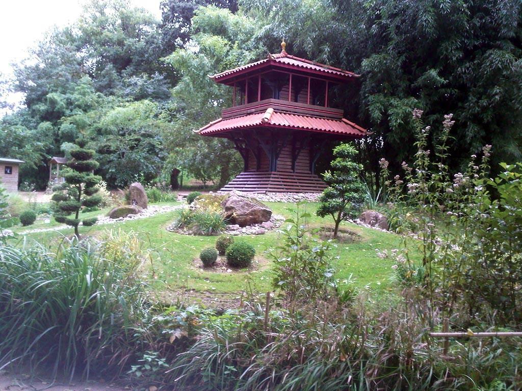 jardin des Olfacties Coex jardin japonais
