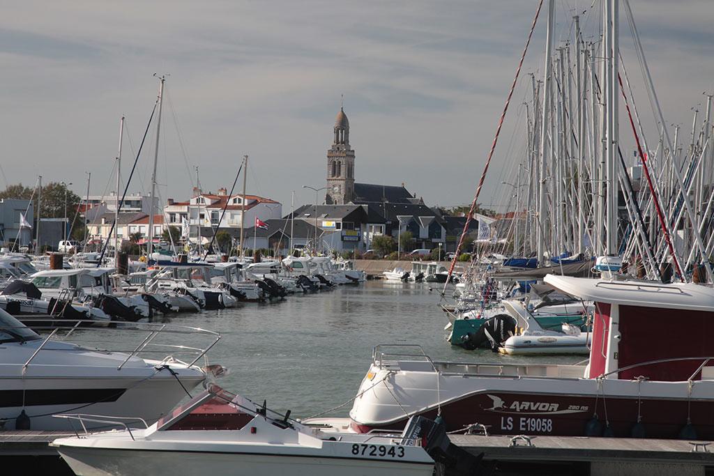 St Gilles Croix de Vie port de plaisance