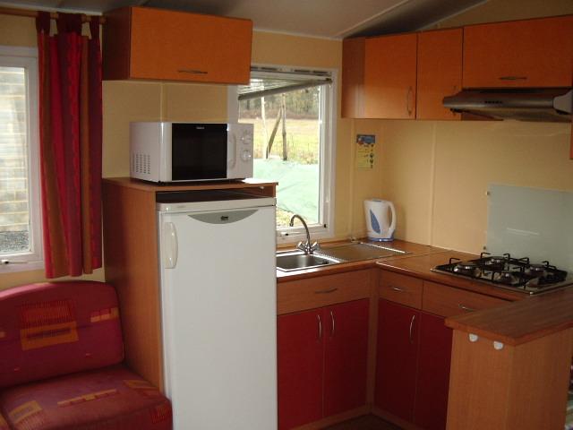 Salon mobil home Super Titania Camping Vendée